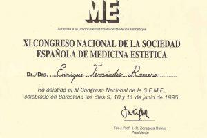doctor-enrique-fernandez-XI-congreso-nacional-sociedad-espanola-de-medicina-estetica