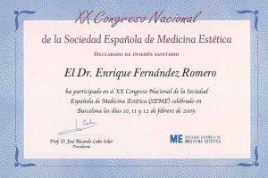 doctor-enrique-fernandez-XX-congreso-nacional-sociedad-espanola-medicina-estetica