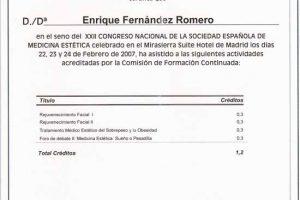 doctor-enrique-fernandez-XXII-congreso-nacional-sociedad-espanola-medicina-estetica
