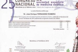 doctor-enrique-fernandez-XXV-congreso-nacional-sociedad-espanola-medicina-estetica