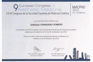 doctor-enrique-fernandez-formacion-congreso-europeo-medicina-estetica