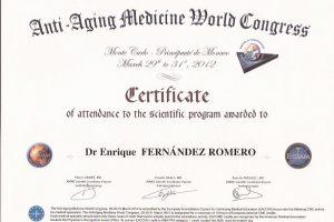 doctor-enrique-fernandez-formacion-congreso-mundial-medicina-antiaging